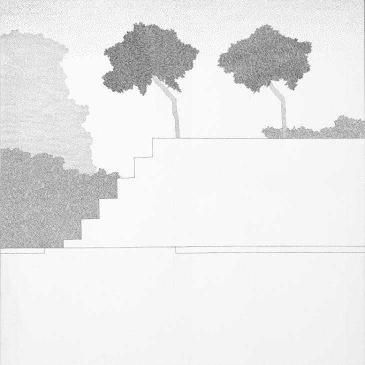 Park XVII. Trepp