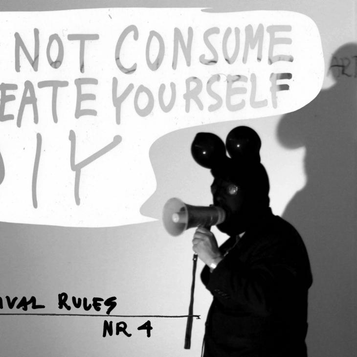 Do not consume, create yourself DIY