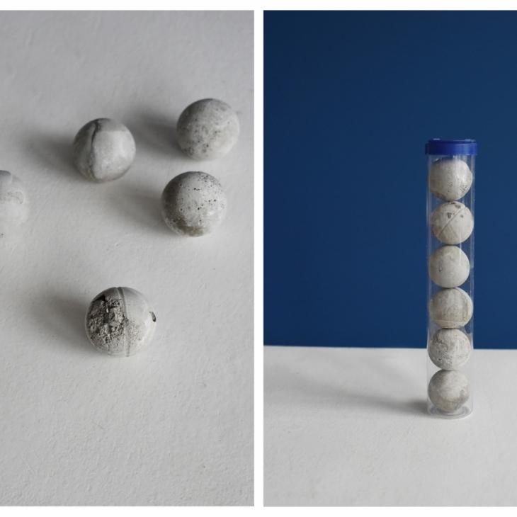 Ping Pong (6 concrete balls)