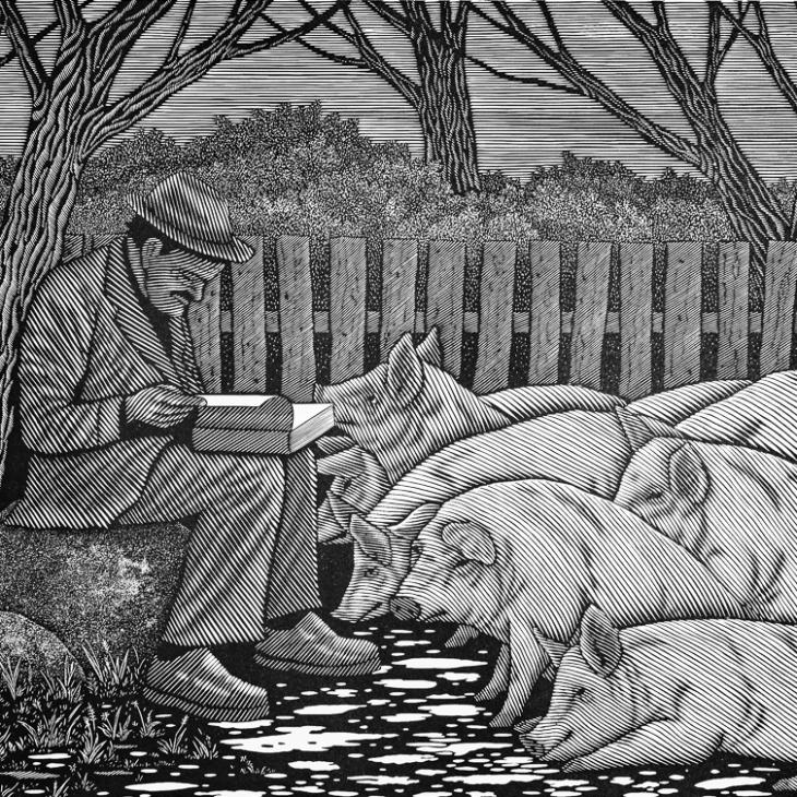 Karjane jutlustab sigadele võrdsusest