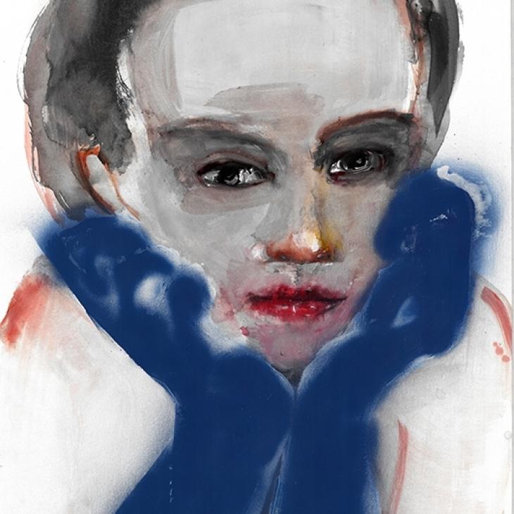 Blue Gloves
